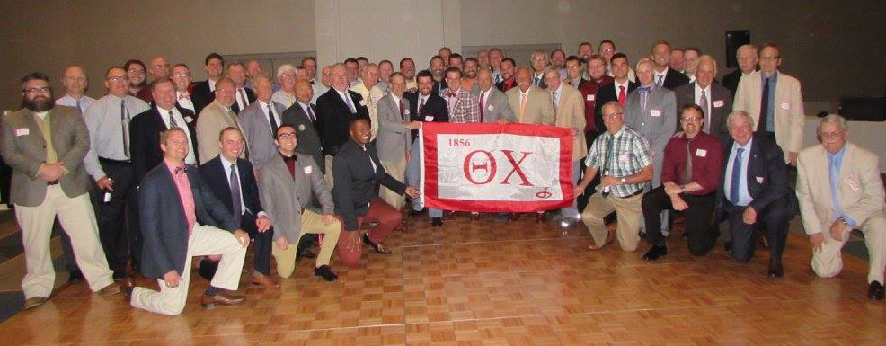 Theta Chi Brotherhood at the 50th Anniversary Banquet
